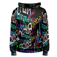 Miami Text Women s Pullover Hoodie