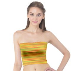 Green And Oragne Tube Top by Valentinaart