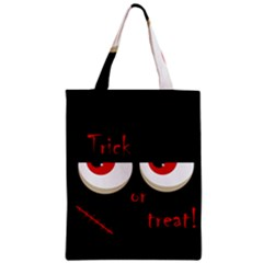 Halloween  trick Or Treat    Monsters Red Eyes Classic Tote Bag by Valentinaart