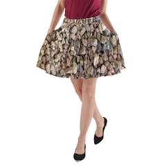 Nitter Stone A Line Pocket Skirt