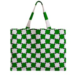 Optical Illusion Zipper Mini Tote Bag by AnjaniArt