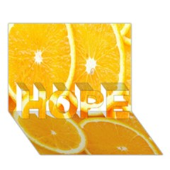 Orange Fruit Hope 3d Greeting Card (7x5) by AnjaniArt