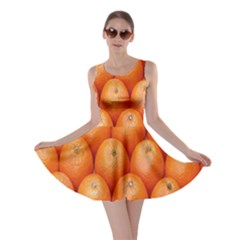 Orange Fruits Skater Dress