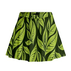 Palm Coconut Tree Mini Flare Skirt
