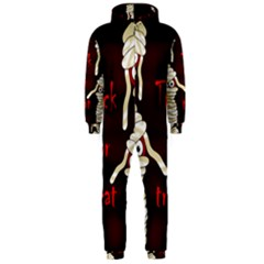 Halloween Mummy Hooded Jumpsuit (men)  by Valentinaart