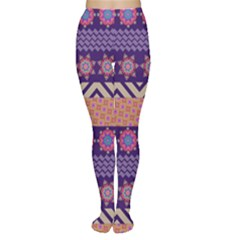 Colorful Winter Pattern Tights
