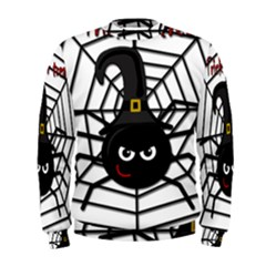 Halloween Cute Spider Men s Sweatshirt