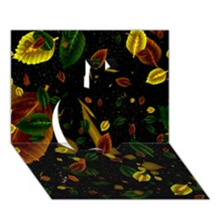 Autumn 03 Apple 3d Greeting Card (7x5)