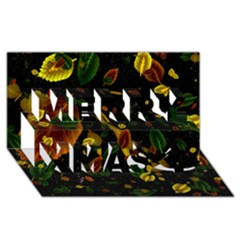 Autumn 03 Merry Xmas 3d Greeting Card (8x4) by MoreColorsinLife