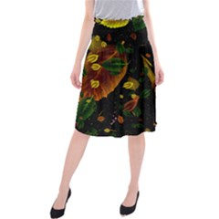 Autumn 03 Midi Beach Skirt by MoreColorsinLife