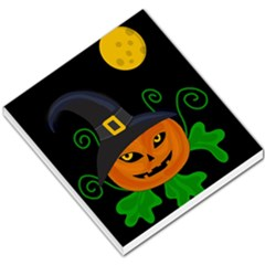 Halloween Witch Pumpkin Small Memo Pads by Valentinaart