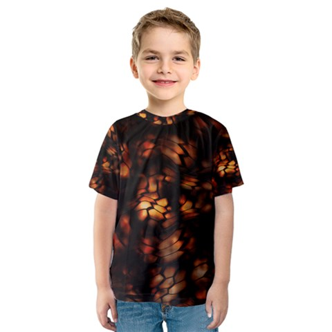Fire Dragon Kids  Sport Mesh Tee by RespawnLARPer