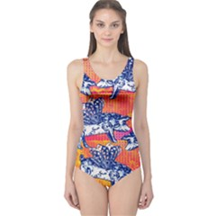 Little flying pigs One Piece Swimsuit