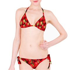 Red Fruits Bikini Set