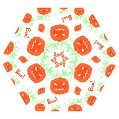 Halloween Pumpkins Pattern Mini Folding Umbrellas by Valentinaart