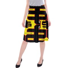 Give Me The Money  Midi Beach Skirt by MRTACPANS
