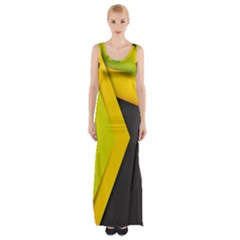 Your Resolution Maxi Thigh Split Dress by AnjaniArt
