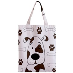 Cute Dog Classic Tote Bag by Valentinaart