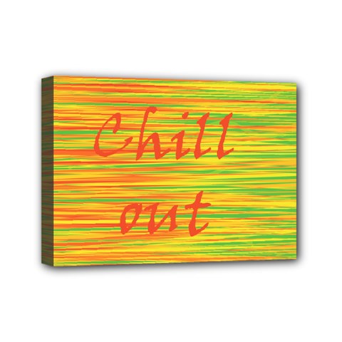 Chill Out Mini Canvas 7  X 5  by Valentinaart