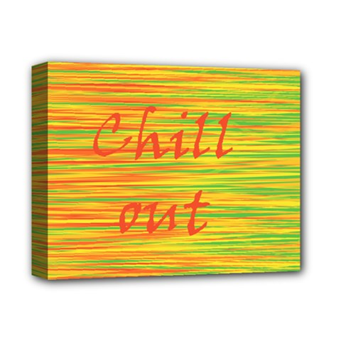 Chill Out Deluxe Canvas 14  X 11  by Valentinaart