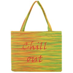 Chill Out Mini Tote Bag by Valentinaart