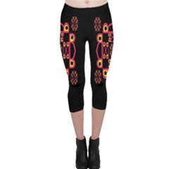 LETTER R Capri Leggings
