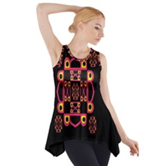 LETTER R Side Drop Tank Tunic