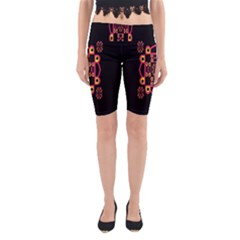 LETTER R Yoga Cropped Leggings