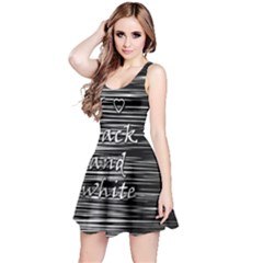 I love black and white Reversible Sleeveless Dress