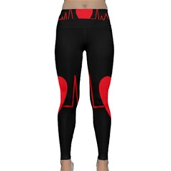 Hart bit Yoga Leggings