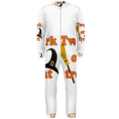 Twerk Or Treat - Funny Halloween Design Onepiece Jumpsuit (men)  by Valentinaart