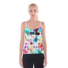 Colorful Diamonds Dream Spaghetti Strap Top