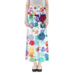 Colorful Diamonds Dream Women s Maxi Skirt