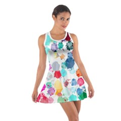 Colorful Diamonds Dream Cotton Racerback Dress