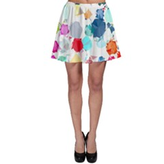 Colorful Diamonds Dream Skater Skirt