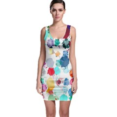 Colorful Diamonds Dream Bodycon Dress