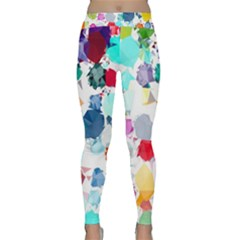 Colorful Diamonds Dream Yoga Leggings