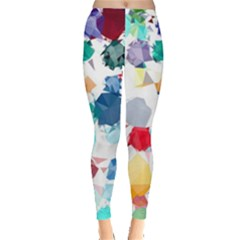 Colorful Diamonds Dream Leggings