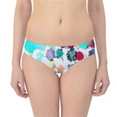 Colorful Diamonds Dream Hipster Bikini Bottoms