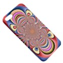 Pastel Shades Ornamental Flower Apple iPhone 5 Hardshell Case with Stand View5