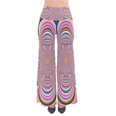 Pastel Shades Ornamental Flower Pants by designworld65