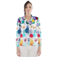 Colorful Diamonds Dream Wind Breaker (Women)