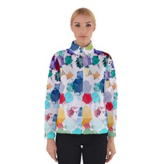 Colorful Diamonds Dream Winter Jacket