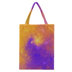 Colorful Universe Classic Tote Bag by designworld65