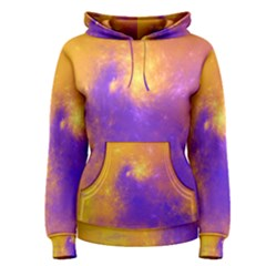 Colorful Universe Women s Pullover Hoodie by designworld65