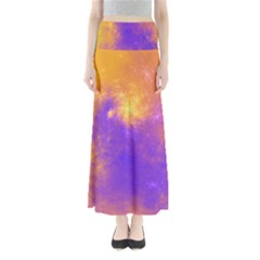Colorful Universe Maxi Skirts by designworld65