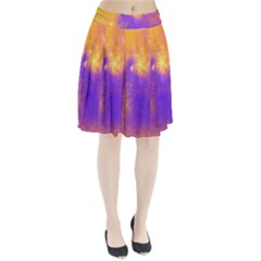 Colorful Universe Pleated Skirt by designworld65