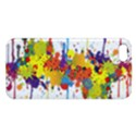 Crazy Multicolored Double Running Splashes iPhone 5S/ SE Premium Hardshell Case View1