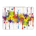 Crazy Multicolored Double Running Splashes Samsung Galaxy Note 10.1 (P600) Hardshell Case View1