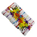 Crazy Multicolored Double Running Splashes Samsung Galaxy Tab S (8.4 ) Hardshell Case  View5